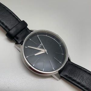 Nixon Kensington Watch - stainless and black